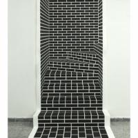 Escalera_falsa_izquierda_2018_dibujo_de_carbon_sobre_papel_plegado_200_x_114_x_100_cm-2jpg