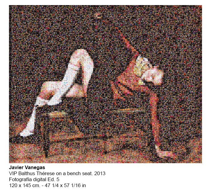 JV-2013 VIP Balthus Therese On A Bench Seat 8603